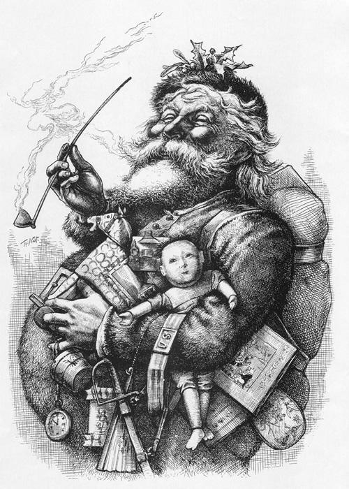 Ilustración de Thomas Nast, 1881.