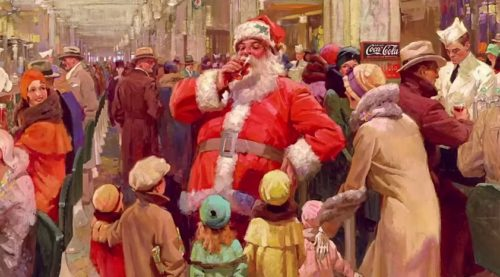 O Santa de Fred Mizen de 1930.