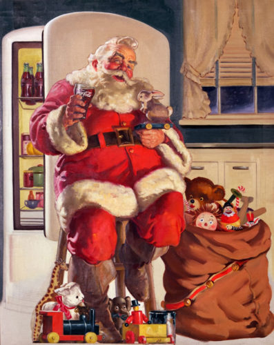 Santa de Haddon Sundblom