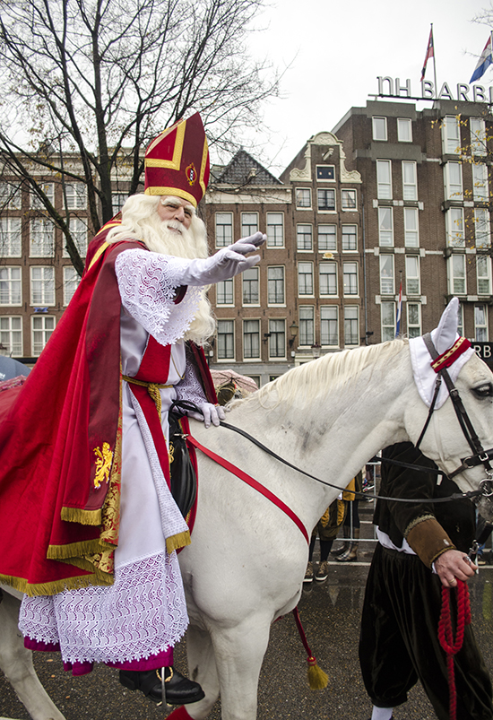 Desfile actual en Amsterdam
