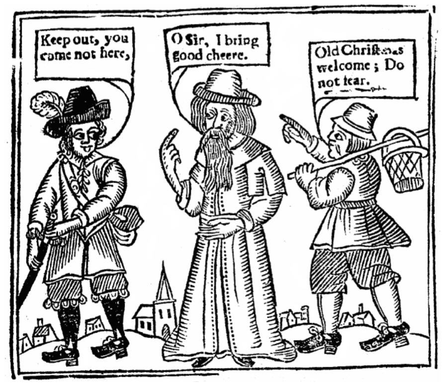 Imaxe da Vindicación do Nadal, de John Taylor, 1652