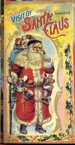 Xogo A visita de Santa Claus, de McLoughlin Bros. 1897.