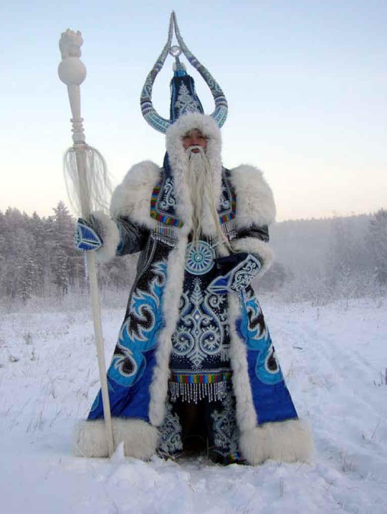 Ded Moroz, o avó xeo ruso.