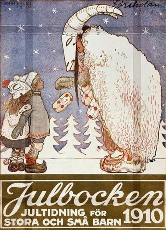 Imaxe da Julbocken entregando agasallos