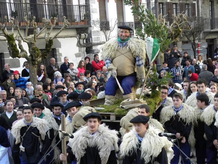 Desfile do Olentzero