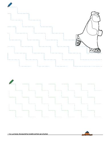 Grafomotricidade Escaleiras 2