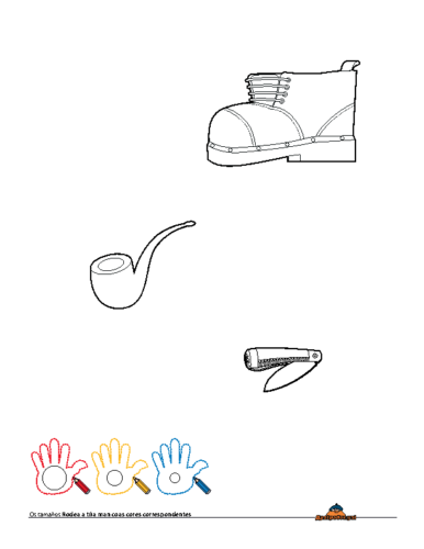Tamaños Obxectos