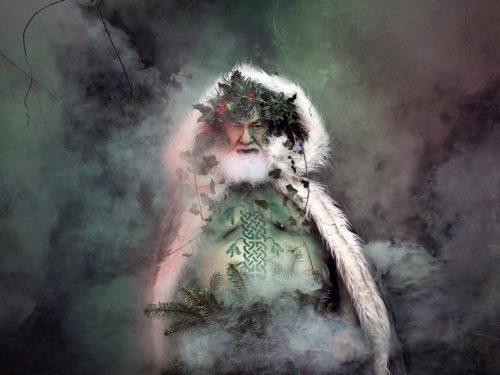 Imaxe do Father Christmas, fotografía de Eva Creel, 2016.
